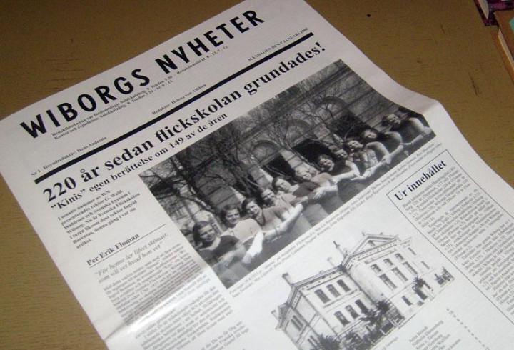 В библиотеке Выборгского музея-заповедника появился свежий номер WIBORG NYHETER