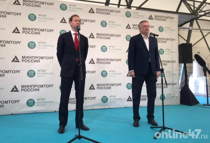 Денис Мантуров: Глаз радуется тому, что сегодня видим в Волхове